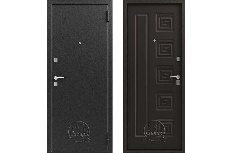 Входная дверь S 2 Серебро Венге