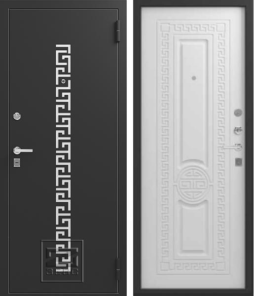 Входная дверь Зевс Z5 Греция Софт белый