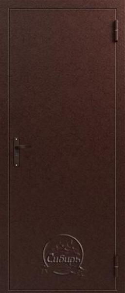 Входная дверь на улицу S super econom Медь