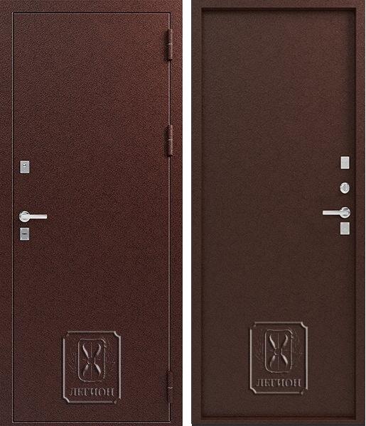 Входная дверь с терморазрывом Легион Т-1 Медь