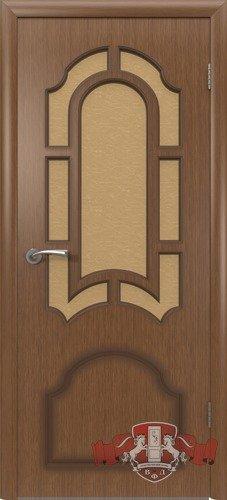 Дверь межкомнатная, 3ДР3 орех