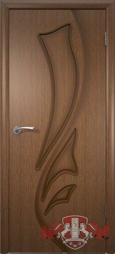 Дверь межкомнатная, 5ДГ3 орех