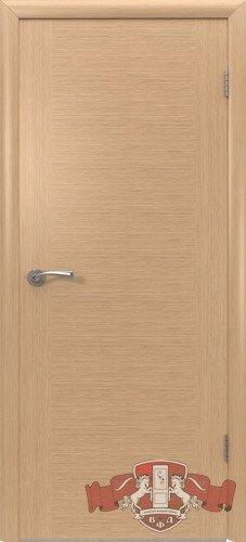 Дверь межкомнатная, 8ДГ1 светлый дуб