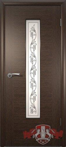 Дверь межкомнатная, 8ДО4 венге