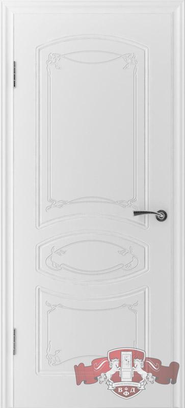 Межкомнатная дверь 13ДГ0 белая эмаль