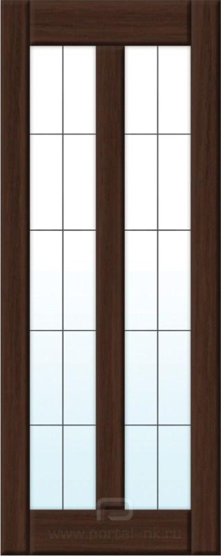 Межкомнатная дверь 2-5 ДО Дуб коричневый