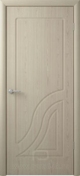 Межкомнатная дверь Флоренция ДГ Беленый дуб