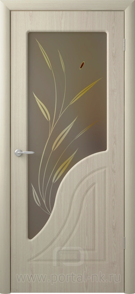 Межкомнатная дверь Флоренция ДО Беленый дуб