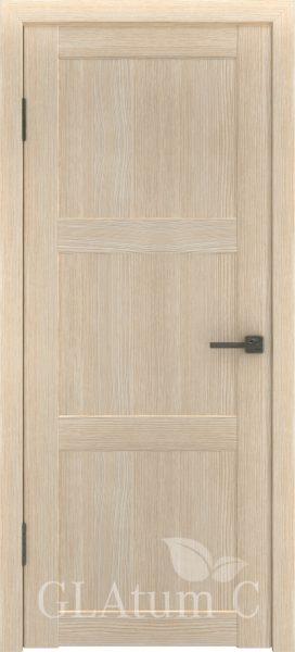 Межкомнатная дверь GLAtum С3 Капучино
