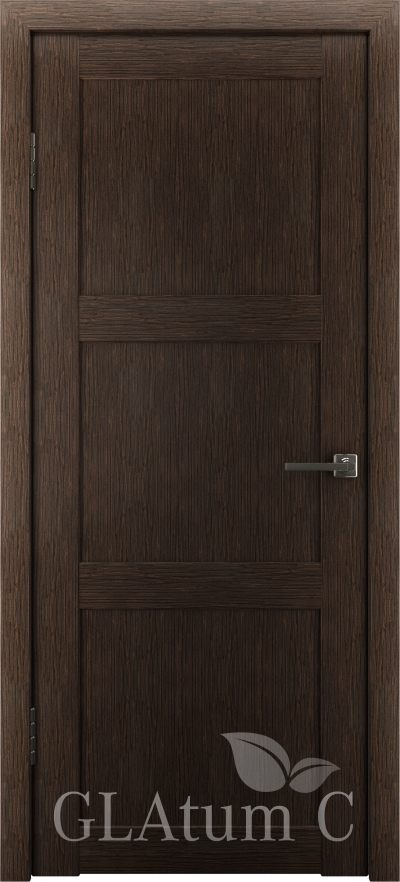 Межкомнатная дверь GLAtum С3 Венге