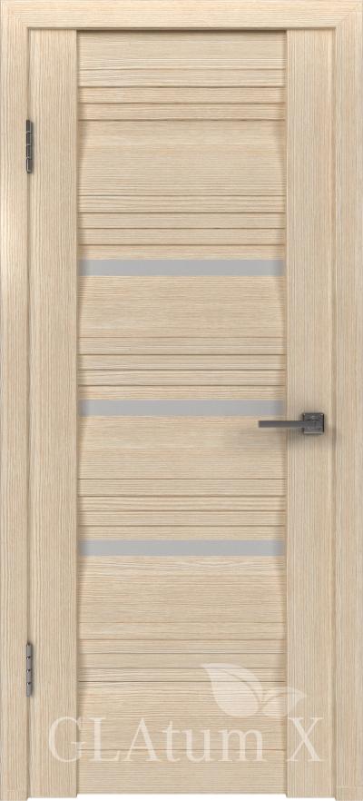 Межкомнатная дверь GLAtum X31 Капучино