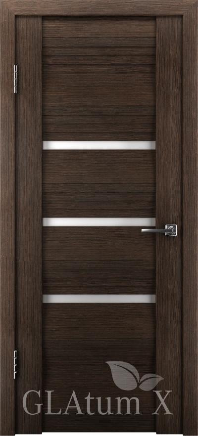 Межкомнатная дверь GLAtum X31 Венге