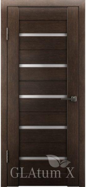 Межкомнатная дверь GLAtum X7 Венге