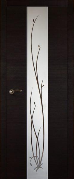 Межкомнатная дверь Галант ДО 3D Венге
