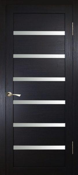 Межкомнатная дверь КЛ-7 Орех темный