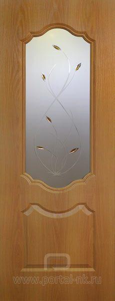 Межкомнатная дверь Канадка ДО Миланский орех