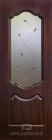 Межкомнатная дверь Канадка ДО Венге