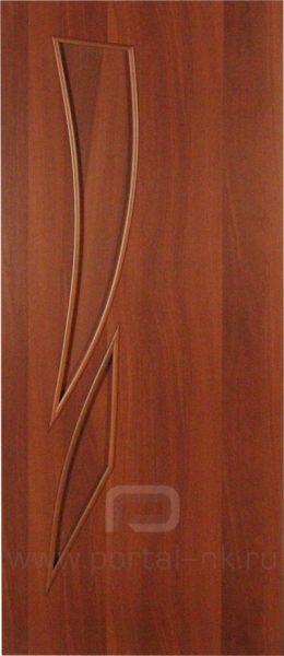 Межкомнатная дверь ПГ-012 Итальянский орех