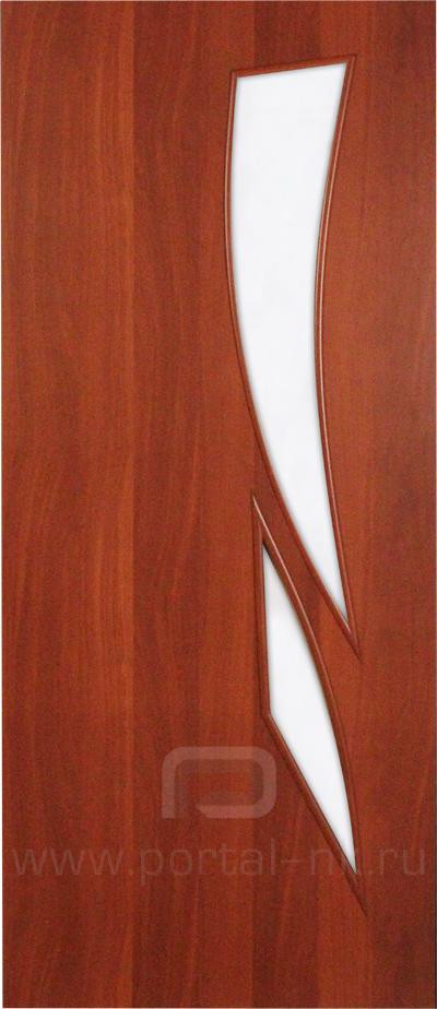 Межкомнатная дверь ПО-012 Итальянский орех