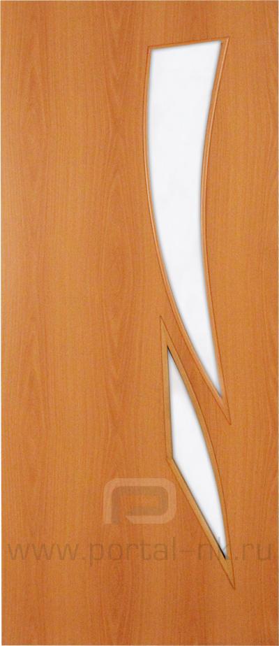 Межкомнатная дверь ПО-012 Миланский орех