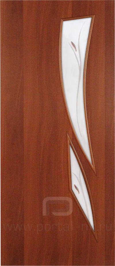 Межкомнатная дверь ПО-012(Ф) Итальянский орех