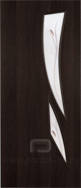 Межкомнатная дверь ПО-012(Ф) Венге