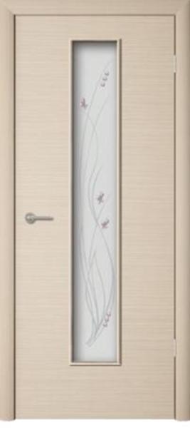 Межкомнатная дверь ПО-02 (ф) Роса Беленый дуб