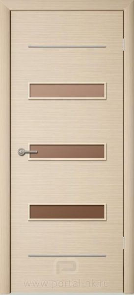Межкомнатная дверь ПО-М5 Беленый дуб