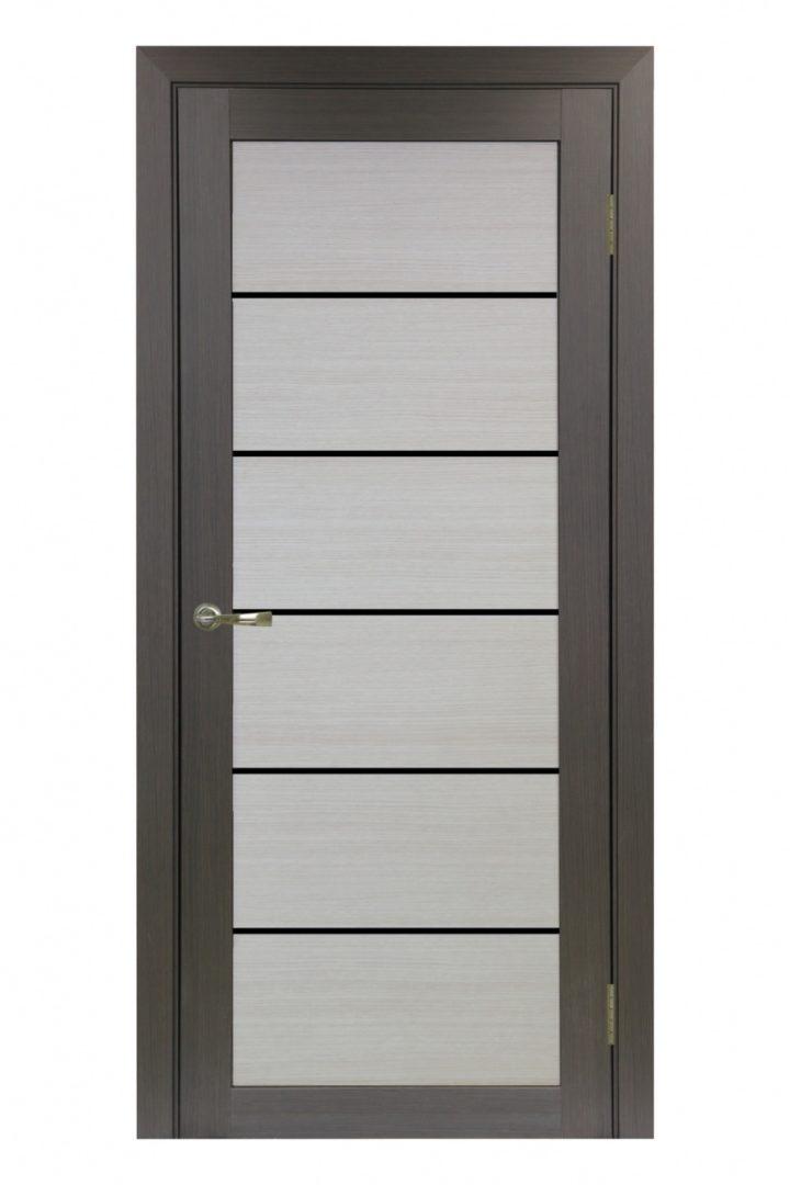 Межкомнатная дверь Турин 506.12 Лакобель черное