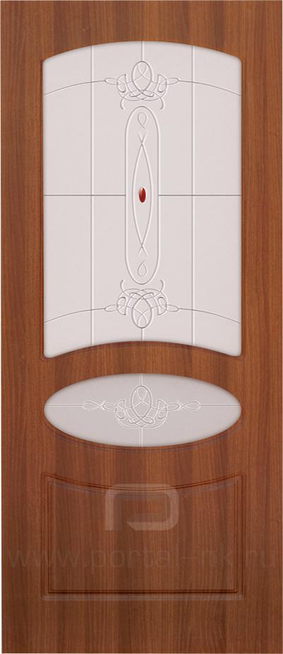 Межкомнатная дверь Венеция ДО Орех таволато