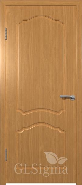Межкомнатная дверь ВФД GLSigma 31 (Лидия) Миланский орех