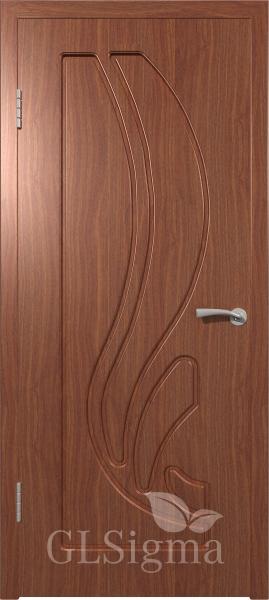 Межкомнатная дверь ВФД GLSigma 81 (Лотос) Итальянский орех