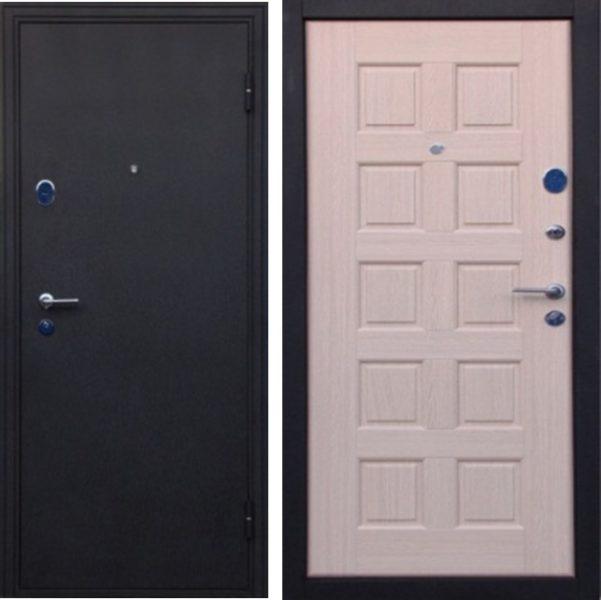 Входная дверь троя беленый дуб